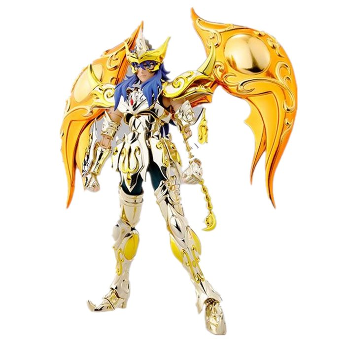 Scorpio Milo Cloth Myth EX Saint Seiya Soul of Gold EX action figure sog metal armor toy gold myth cloth model gt saint seiya ex sagittarius aiolos soul of gold sog metal armor toys action figure for collections