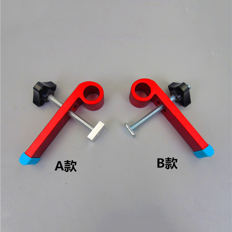 2 Pcs Woodworking Clamping Blocks Clamp Aluminum Alloy Joint Hand Tool