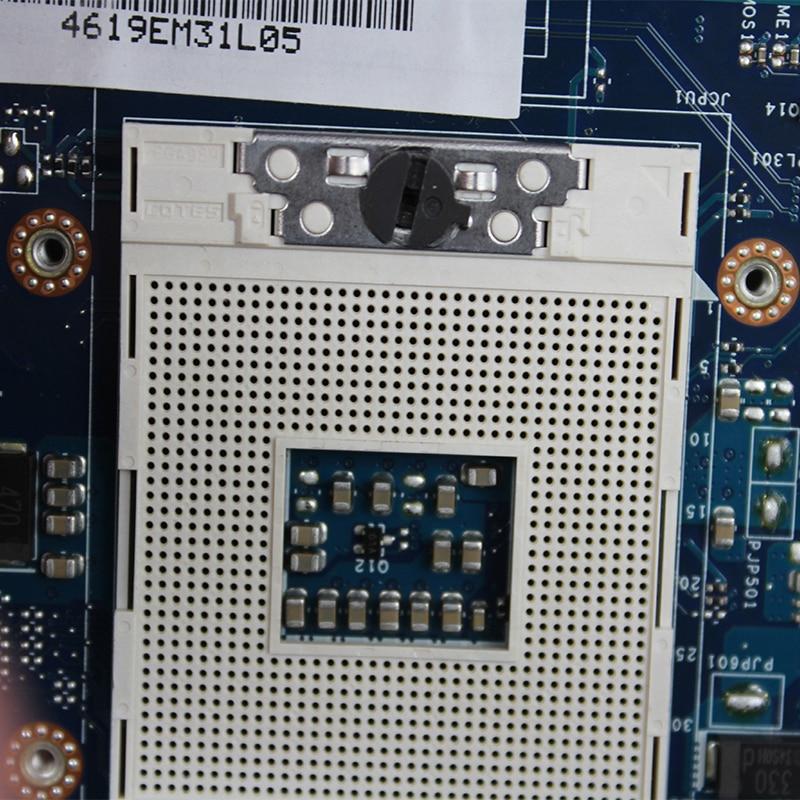 Original For Dell latitude E6430 laptop motherboard MB NVS 5200 1GB QM77 PGA989 DDR3 0465VM QAL81 LA-7782P 100% fully Tested 3
