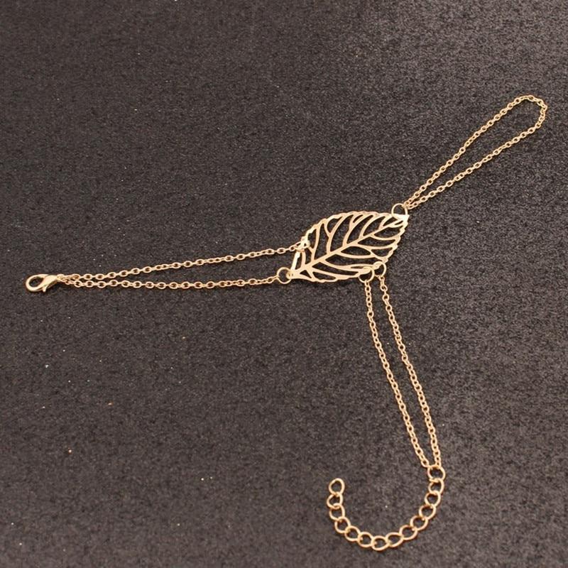 Pulseiras-unissex-Oco-Folhas-Cadeia-M-o-Harness-Bracelet-Bangle-para-As-Mulheres (2)