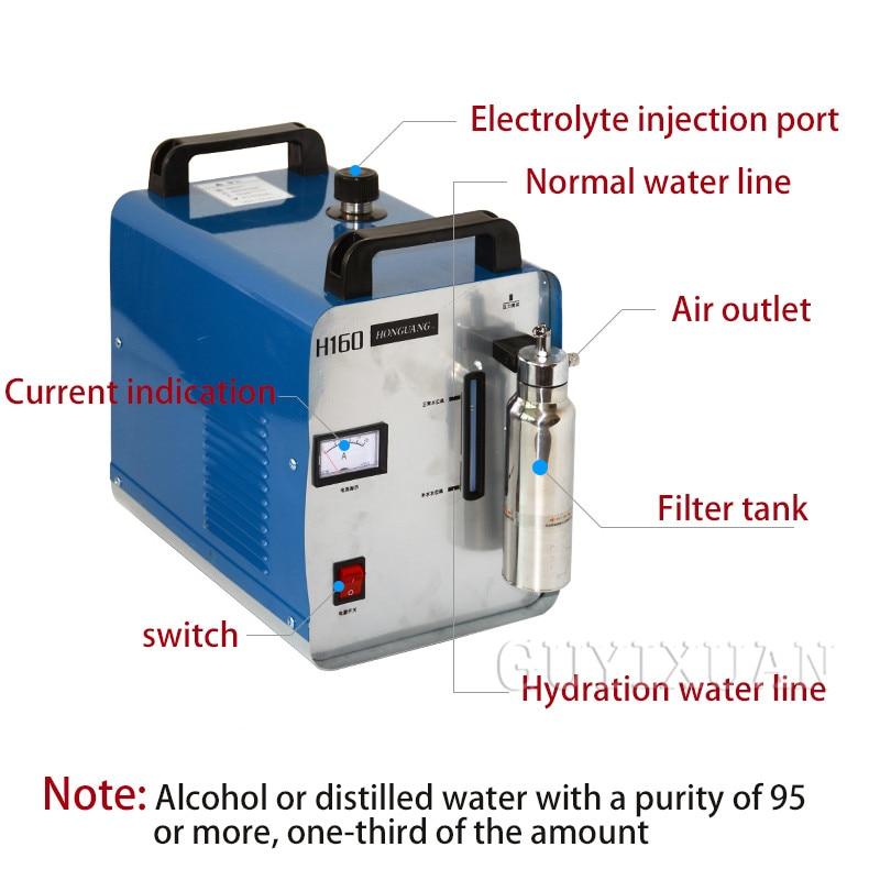 Acryl flamme polieren maschine/sauerstoff wasserstoff polieren maschine/kristall wort polieren H160