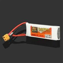 Chất Lượng Cao Zop Công Suất 3S 11.1V 1500 MAh 25C Pin XT60 Cắm Sạc Pin Lipo