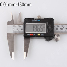 Big discount 6″ 150 mm Digital Vernier Caliper Micrometer Guage Widescreen Electronic Accurately Measuring Stainless Steel