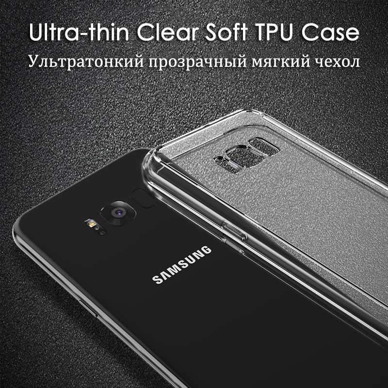 KCLC2905_9_Transparent Clear TPU Case For Samsung Galaxy S8