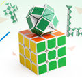 Puzzle magic cube Funny Fidget Cube Hand Spin Oyuncak Anti-stress Toy Children Toys Educational Puzzle Speed Challenge Gifts