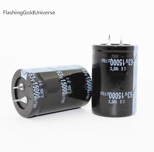 1pc 100uf 450V Electrolytic Capacitor Snap In Radial Audio Tube Amp DIY