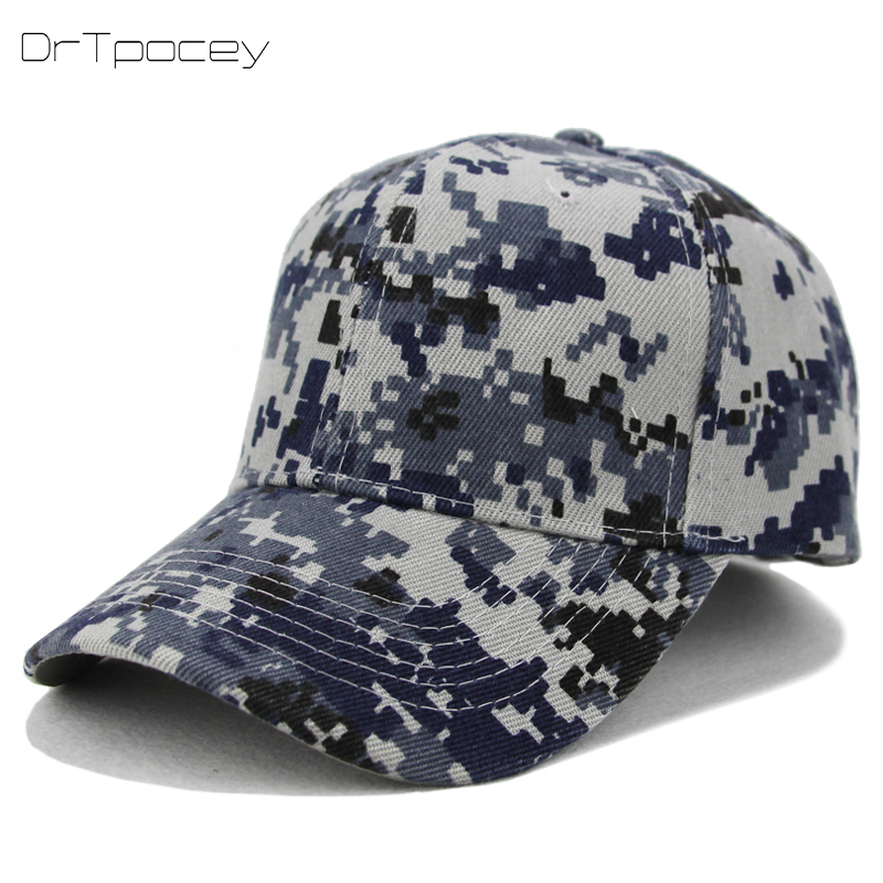 Fashion Hip-hop Caps Men Baseball Cap Army Camo Summer Tactical Snapback Dad Hat Sports Casual Cotton Trucker Snapback Club Cap 2018 cc denim ponytail baseball cap snapback dad hat women summer mesh trucker hats messy bun sequin shine hip hop caps casual