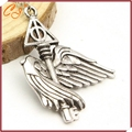 European and American movie peripheral accessories The deathly hallows flying wing key necklace