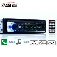 정품 Autoradio 12 볼트 블루투스 V2.0 JSD520 스테레오