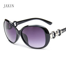 лучшая цена JAXIN Fashion new Sunglasses Women brand design beautiful atmosphere Sun Glasses Lady outdoor travel goggles UV400oculos okulary