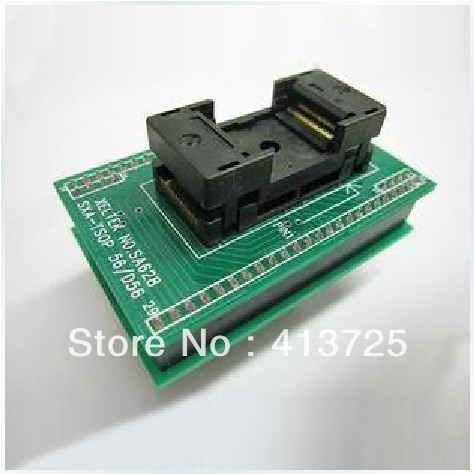 Import burn test socket adapter TSOP56 conversion SA628-B018/B011/B102 xeltek dedicated burn seat cx3015 seat mqfp64 conversion adapter