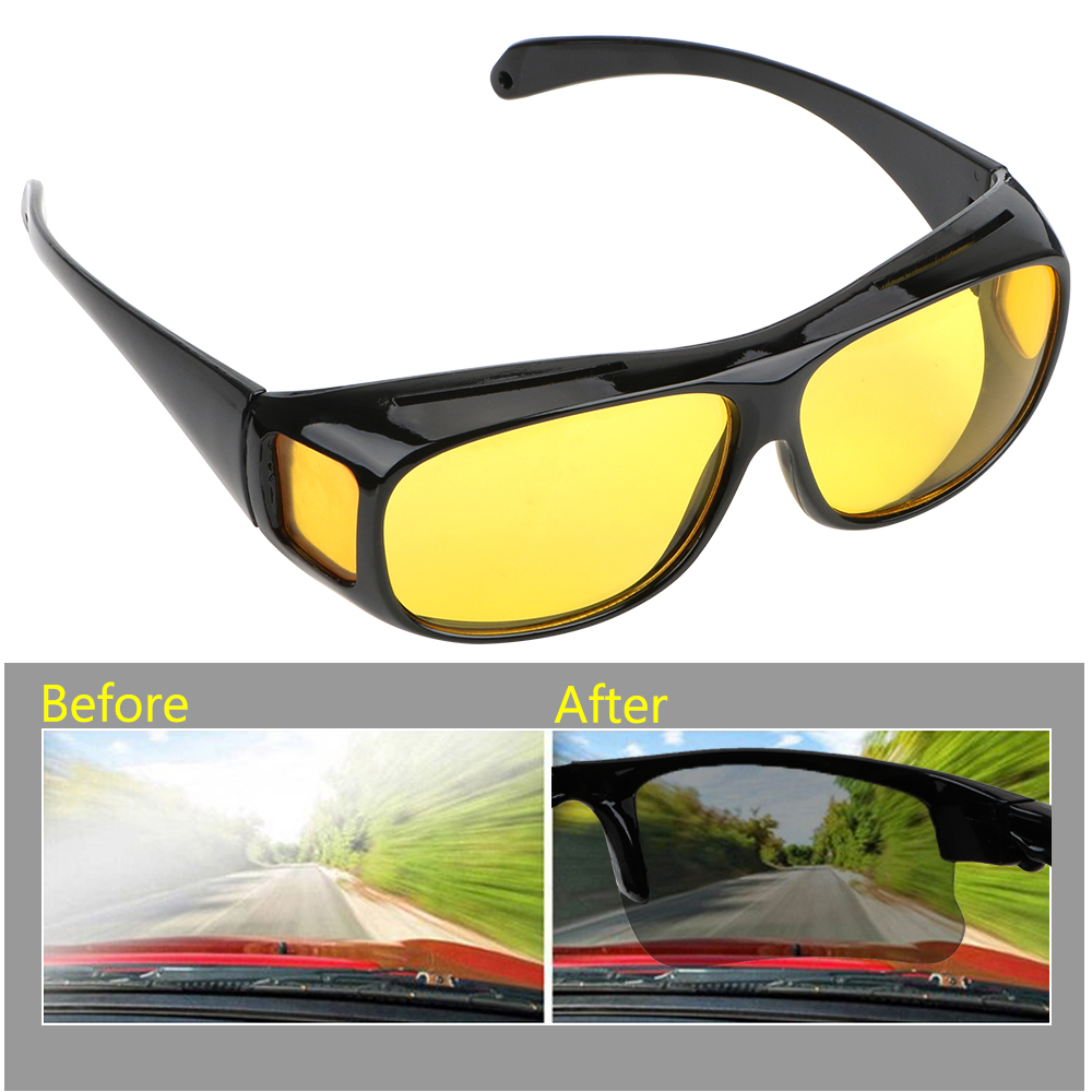 Car Driving Glasses Night Vision Goggles Anti-glare Eyewear UV Protection Polarized Sunglasses HD Vision Sun Glasses Unisex