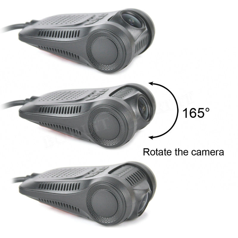 BORUi WIFI auto DVR kaamera Full HD 1080P kriipskaamera registreerija - Autode Elektroonika - Foto 5