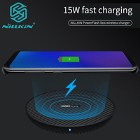 Nillkin 15W Qi Wireless Charger for Samsung Note 8 S9 S8 Plus Nilkin Fast Wireless Charging Pad for iPhone X Xs Max XR 8 Plus