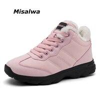 Unisex Women Casual Shoes Women Flats Winter Gentlemen Boy Lover Couple Shoes Warm Fur Lined Shoes Safe Rubber Shoes