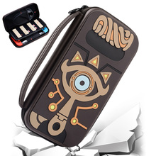 hot deal buy toys hobbies protected travel carrying bag case cover compatible for nintend switch ns nsw legend zelda sheikah slate