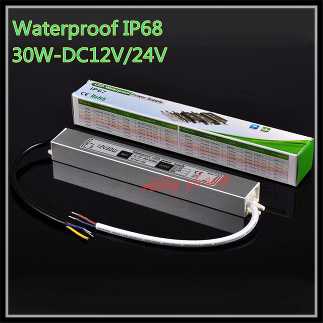 Dc 12v 30w ip67 waterproof electronic led driveroutdoor lighting dc 12v 30w ip67 waterproof electronic led driveroutdoor lighting equipment dedicated power supply transformers workwithnaturefo