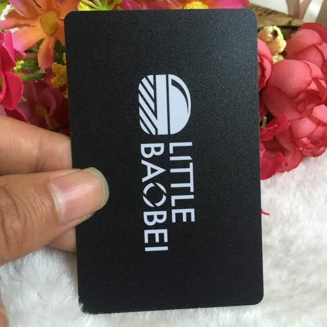 Us 51 0 15 Off Benutzerdefinierte Dicke 0 38mm Beidseitigen Druck Visitenkarte Kunststoff Pvc Visitenkarten Druck Besuchen Kartendruck In