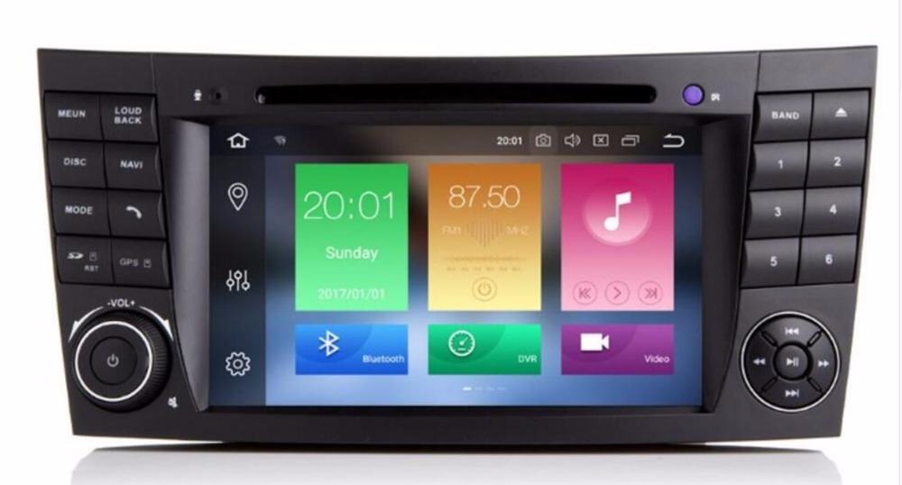 radio android 8 0 head unit car dvd player gps for. Black Bedroom Furniture Sets. Home Design Ideas