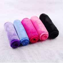 40*17cm Microfiber Makeup Remover Reusable Makeup Eraser Towel Remover Wipes No Need Cleansing Oil PVC Box Original