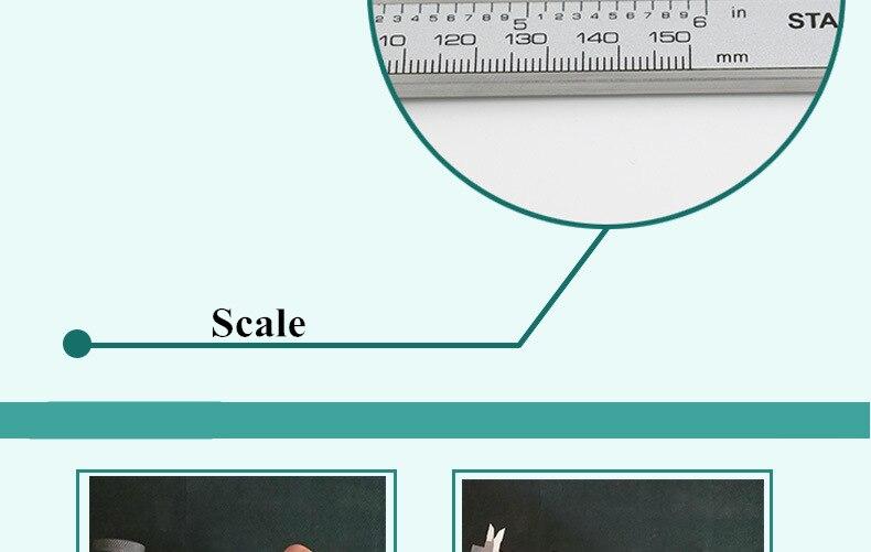 Caliper 150 MILÍMETROS de Medição & Ferramentas de aferição