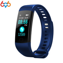 696 Y5 Faixa de Relógio Inteligente Tela Colorida Pulseira Smartband Atividade rastreador De Fitness Heart Rate Eletrônica Pulseira Miband VS 2