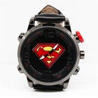 Film Super-Héros Superman Cosplay Accessoires Étudiants Montre De Mode