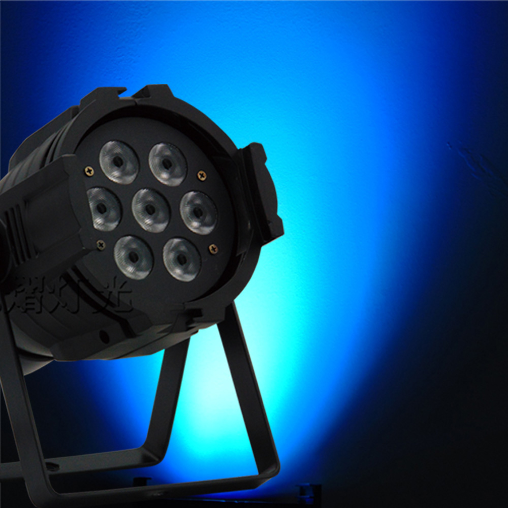 New Professional LED Stage Lights 12 RGB PAR DMX LED Stage Lighting Effect DMX512 Master-Slave dj Light for Disco Party KTV premium led stage lights 18w rgb led flat par light stage lamp dmx512 disco dj bar effect up lighting for dj disco party ktv