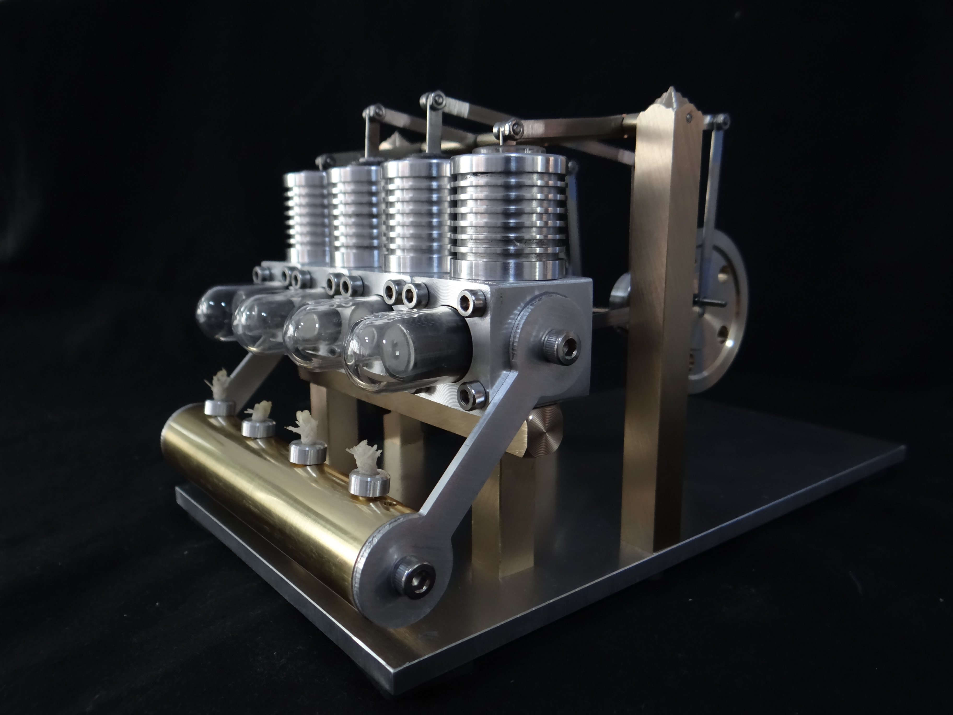 Stirling Engine Mini Generator Birthday Gift Physical Micro Engine Learning Educational Gift For Kid Children Science Toy engine oil engine mini engine model hit and miss engine send friend birthday gift