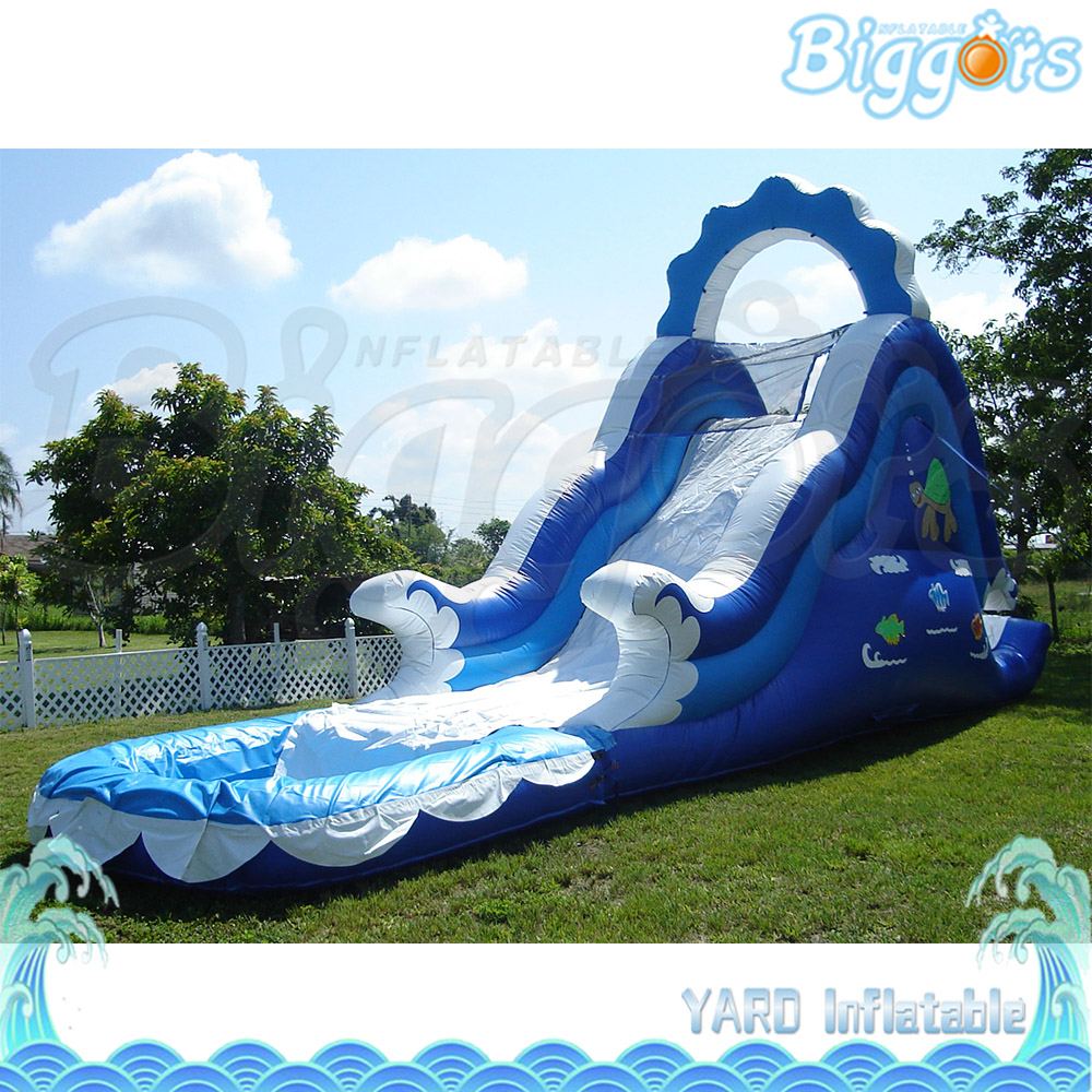YARD Giant Inflatable Slide Inflatable Water Slide With Pool With Air Blower Carry Bag commercial inflatable slide with big pool giant inflatable water slide inflatable pool slide