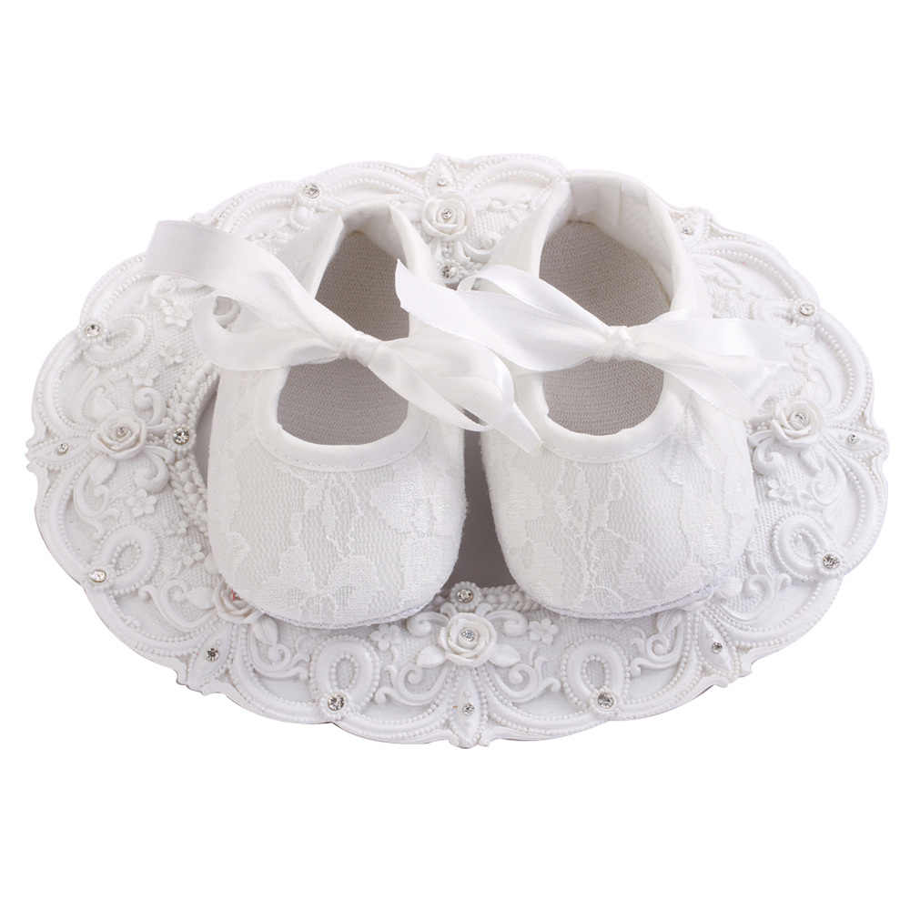 Newborn Baby Shoes Girls Infant Cotton Cloth First Walkers Soft Bottom Shoes;Lace-up Bebe Toddler Moccasins Baby Schoenen 0-12M