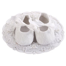 Newborn Baby Shoes Girls Infant Cotton Cloth First Walkers Soft Bottom Shoes;Lace-up Bebe Toddler Moccasins Baby Schoenen 0-12M(China)