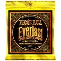 Ernie Ball 2558 Everlast 80 20 Bronze Light Acoustic Guitar Strings 011 052