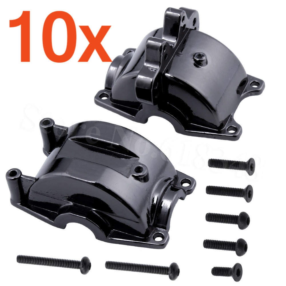 10pcs/Lot Aluminum Diff Gear Housing Hydraulic Transmission Box A949-12 For WLtoys 1/18 RC Car Upgrade Parts wltoys 12428 12423 1 12 rc car spare parts 12428 0091 12428 0133 front rear diff gear differential gear complete