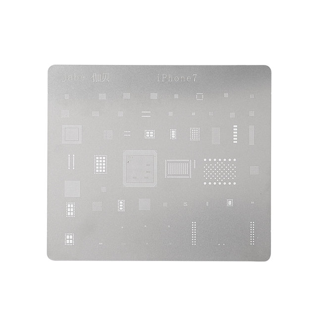 the latest 71e44 68c59 US $0.99 |DIYFIX Phone Logic Board Repair Tool for iPhone 7 6s 6 5s 5  Motherboard IC Chip Ball Soldering Net Stainless Steel Plate-in Hand Tool  Sets ...