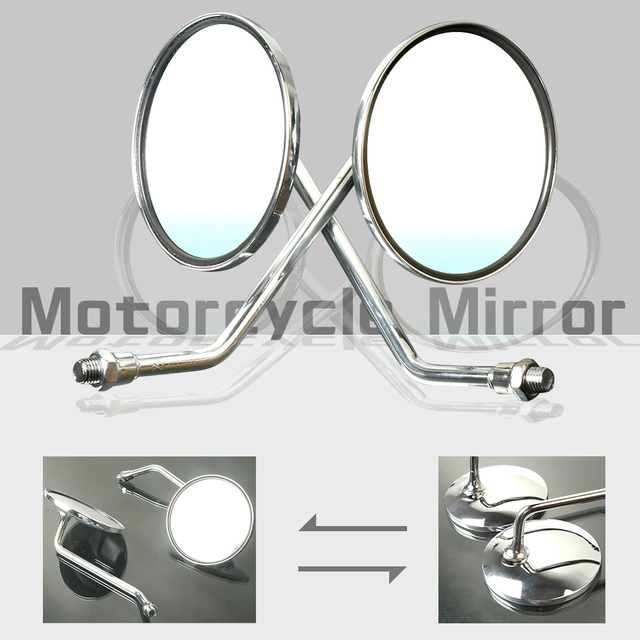 Universal Motorcycle accessories Motorbike Rearview Mirrors For TRIUMPH HORNET yamaha honda cb500x KAWASAKI SUZUKI nc750x f800gs