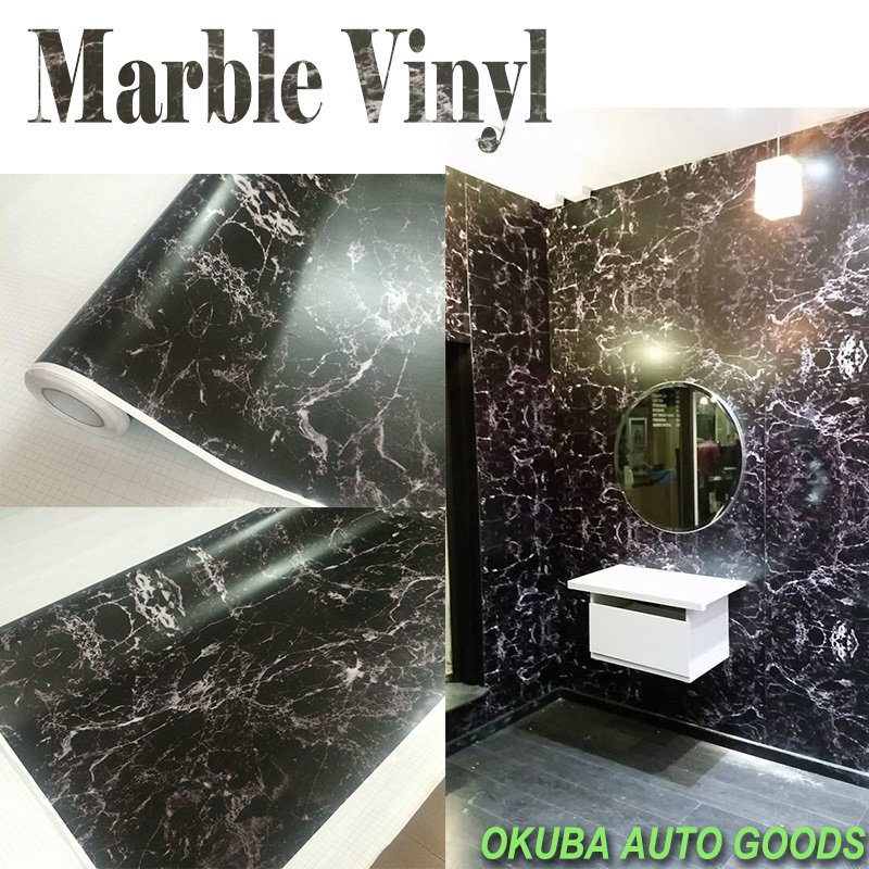 Adhesive Marble Vinyl Sticker Marble Print Fabric Hydrographic Sticker Bomb Film Stickerbomb Vinyl for Car Macbook Table
