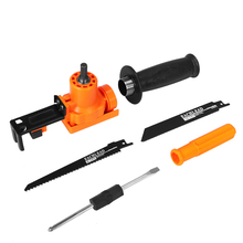 Portable Reciprocating Home DIY Reciprocating Saw Kit Attachment Electric Drill Into For Wood Metal Cutting