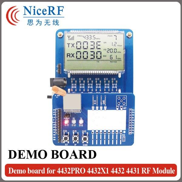 Standard DEMO Board For RF4432PRO,RF4432X1,RF4432,RF4431 Wireless RF Module For Free ShippingStandard DEMO Board For RF4432PRO,RF4432X1,RF4432,RF4431 Wireless RF Module For Free Shipping