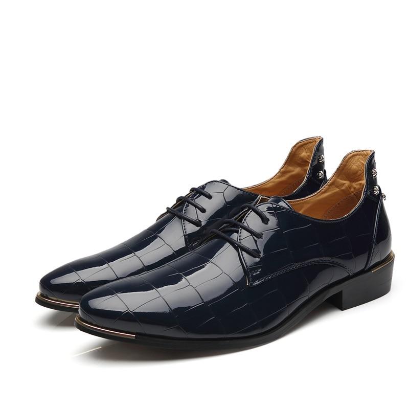 Sapatos Homens Vestido 68 Black Social Formais Dos blue Elegante Msw8118112 Verão De Designer Couro 28 red EYFaHqH