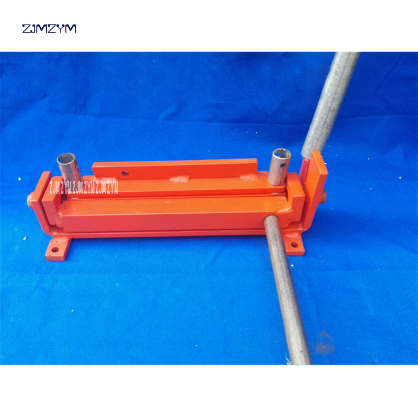 Small manual folding machine / bending machine / ZB-L210 (powerful) bending machine, Maximum bending width 210mm,2mm thickness diy small manual bending machine folding machine iron sheet metal bending plate bending machine