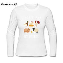"""I Don't Eat My Friends"" women's t-shirt / 5 Colors"