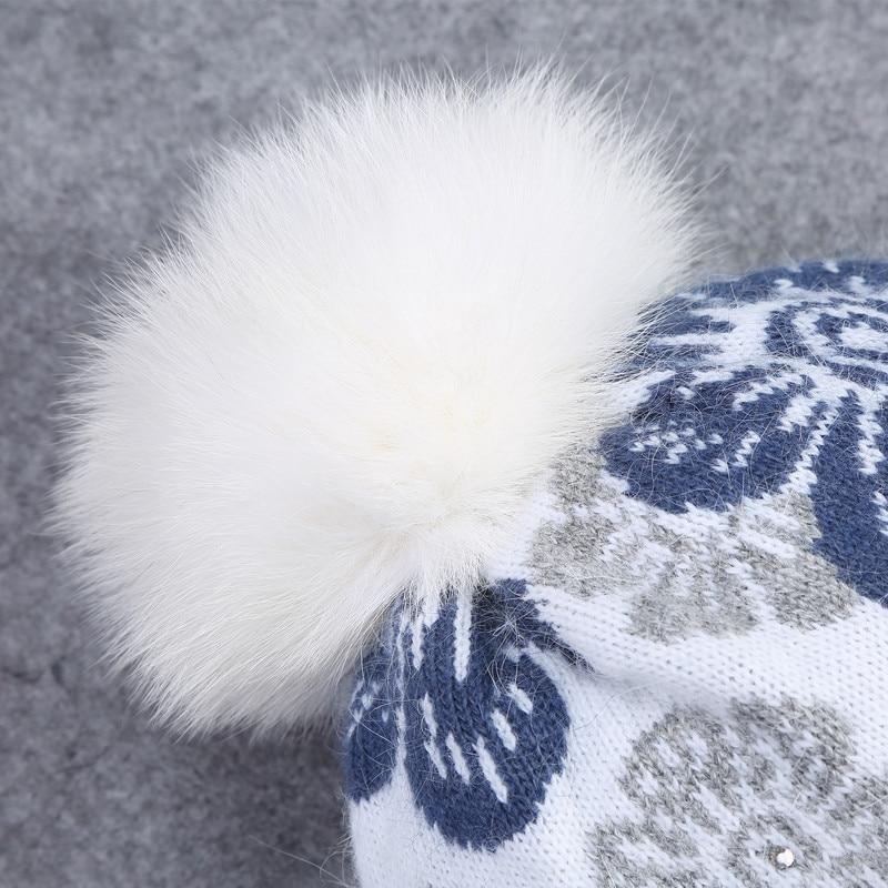 Xthree Damen Wintermütze Schal für Mädchen Beanie Wolle - Bekleidungszubehör - Foto 4