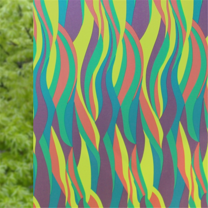 Funlife 80*600 cm Auto-adhésif dépoli cellophane fenêtre papier autocollant film épaississement transparent opaque salle de bains papier autocollant - 2