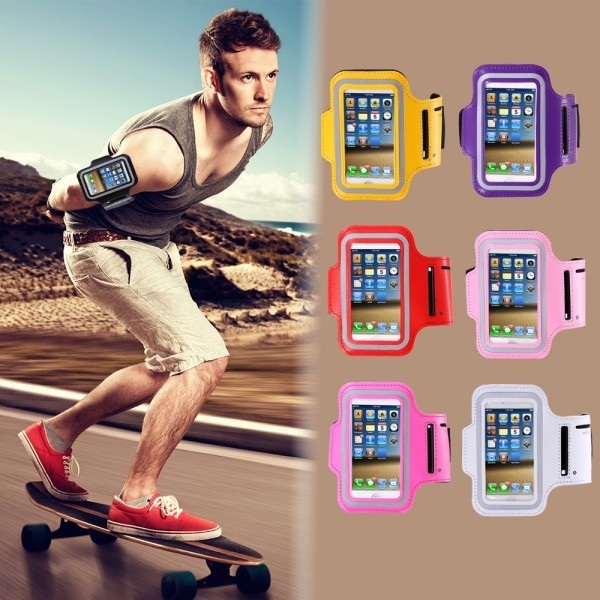 For iPhone5 5S SE Sport Case Fashion Waterproof GYM Running Arm Band Case For iPhone 5 5S For iPhone SE Holder Pouch Accessories
