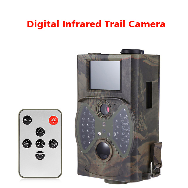 HC - 300A 1080P Hunting Camera 12MP Digital Infrared Trail Camera Scouting 32G Night Vision Outdoor Wildlife Camera Waterproof hc 800a 12mp 1080p infrared digital trail camera 120 degree wide angle night vision hunting camera wildlife scouting device