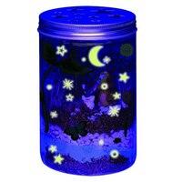 luminous Stickers Glowing Bottle DIY Toy Kids Glass Glow in the Dark Toys Luminoux Mushroom Baby Amazing Gift Hollow Star