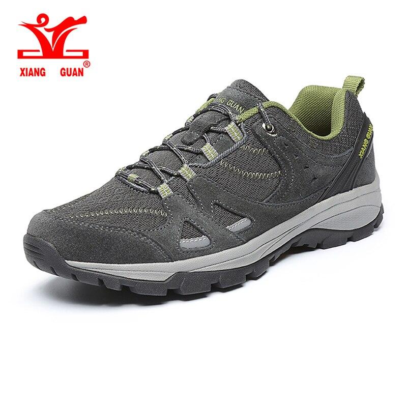 Xiang Guan légères Chaussures de randonnée En Plein Air hommes résistant à l'usure anti-dérapage Respirant Sneakers Sport camping escalade