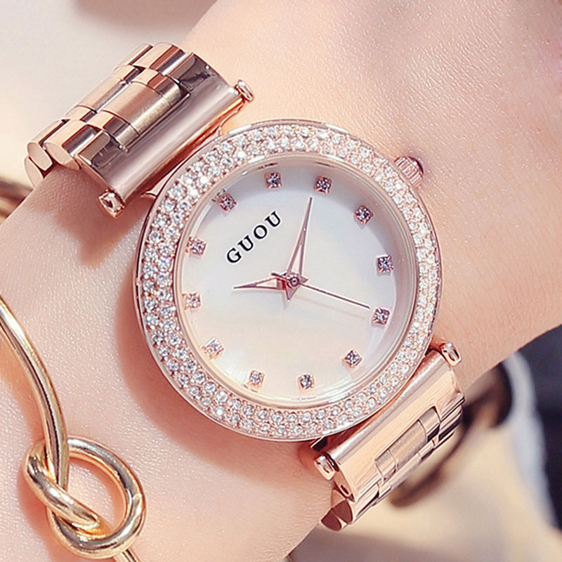Women Watches 2017 Brand Luxury Fashion Quartz Ladies Watch Lover Clock Rose Gold Dress Casual Watch girl relogio feminino new fashion brand gold geneva casual quartz watch women crystal silicone watches relogio feminino dress ladies wristwatches hot
