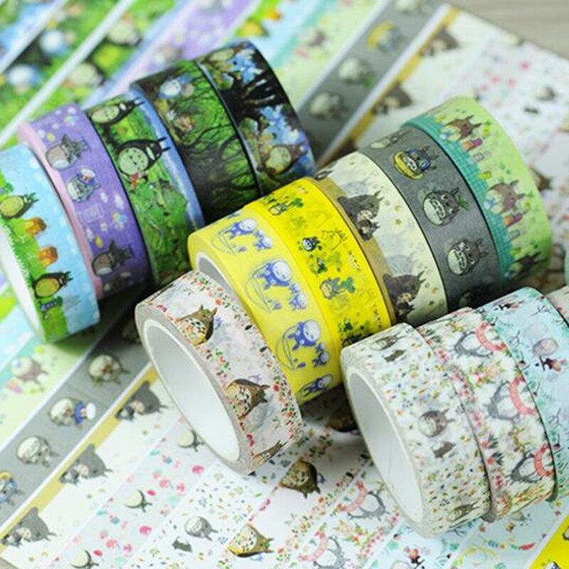 My Neighbor Totoro Japanese Washi Adhesive Stationery Craft Tape Sticker